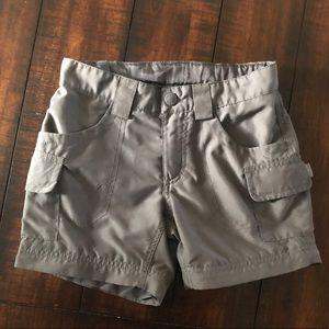 Girls North Face cargo shorts